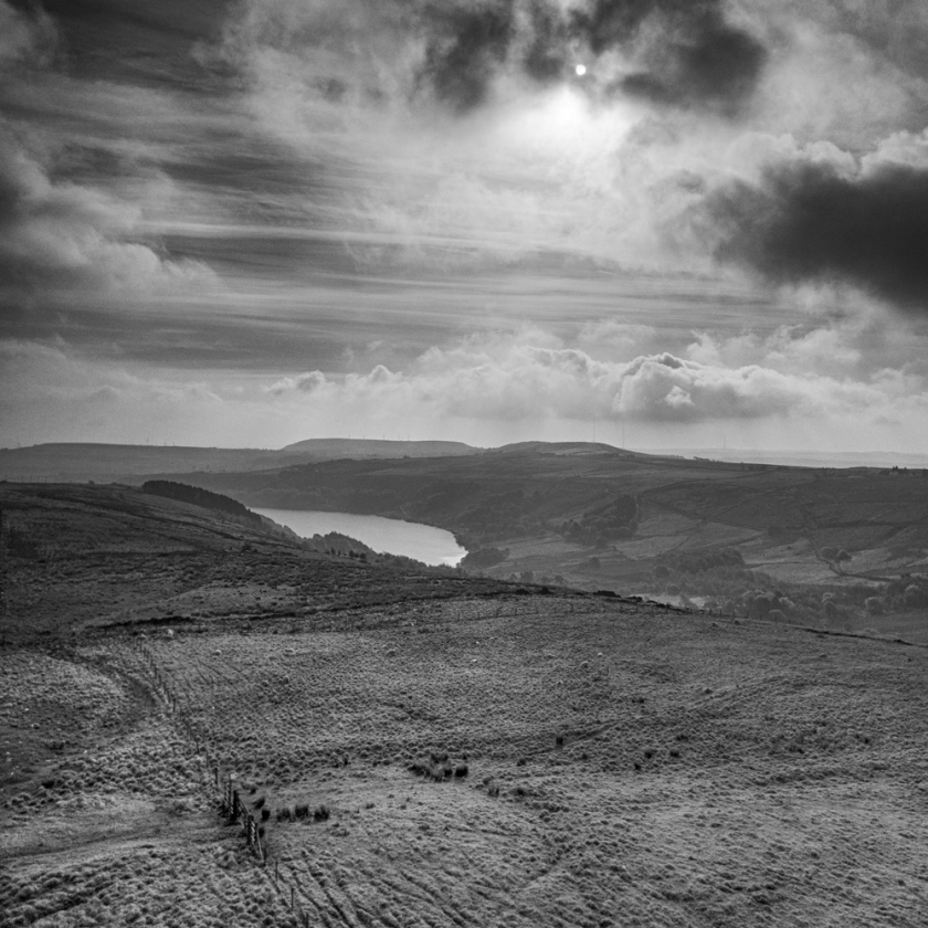 Aerial images from Marsden Moor